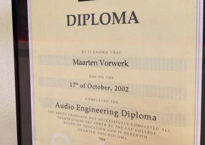 SAE Graduation 2002