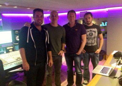 Steve Mac and Team in London
