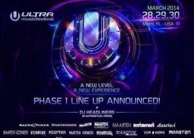 Ultra Line Up 2014